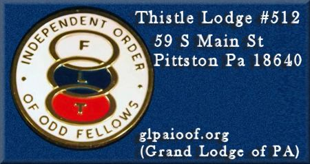 Thistle Lodge 512 of Odd Fellows